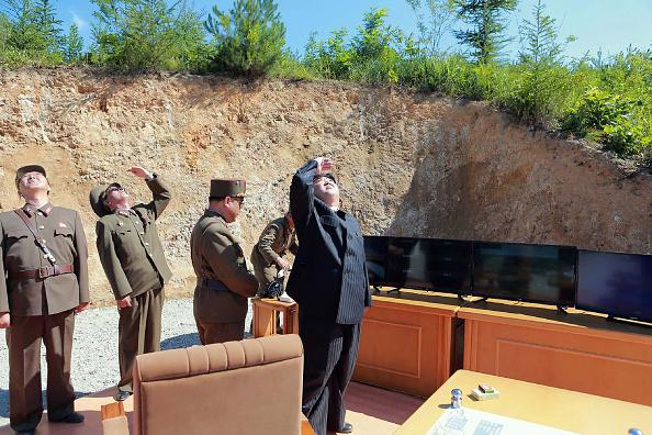 Kim Jong-un Foto: STR/AFP/Getty Images.