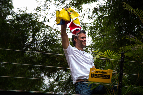 Foto de archivo: Leopoldo López. Foto: Wil Riera/Bloomberg via Getty Images