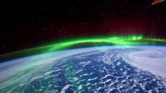"""Video de la aurora boreal que a un astronauta le pareció """"salsa de burrito"""""""