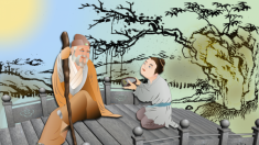 """La virtud de respetar a los ancianos como dice el """"Clásico de los Tres Caracteres"""""""