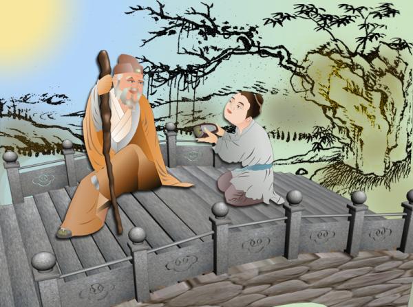 Zhang Liang, uno de los tres héroes de la dinastía Han, era conocido por su tolerancia y respeto a los ancianos. (Catherine Chang/La Gran Época)
