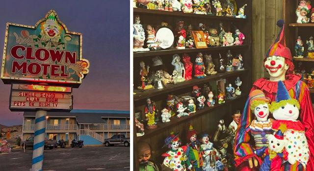 """El temido Hotel """"Payaso"""" de Nevada se vende con una espeluznante sorpresa"""