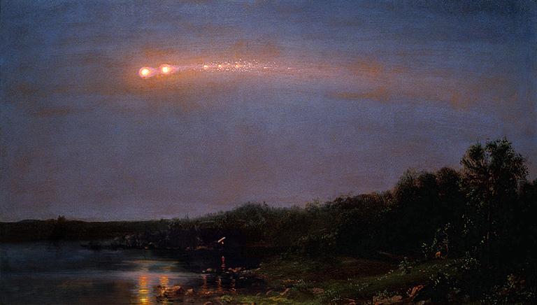 Las lluvias de meteoros nos brindan uno de los espectáculos más hermoso de la naturaleza en el que podemos apreciar brillantes luces de diferentes colores en el cielo en diferentes momentos del años (Wikimedia Commons).