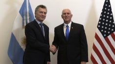 Pence elogia las reformas de Macri y pide aumentar la presión contra Maduro
