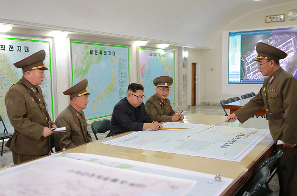 Foto: Kim Jong-un  (STR/AFP/Getty Images).