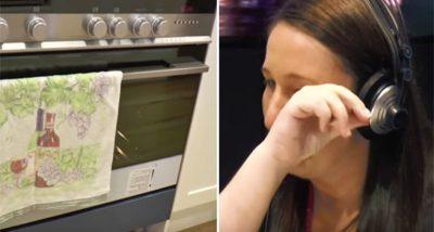 Su esposo la abandona embarazada pero una sorpresaen el horno la deja en ¡COMPLETO SHOCK!