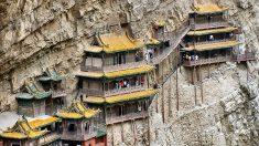 El Templo suspendido 'milagrosamente', desafiando las leyes de gravedad