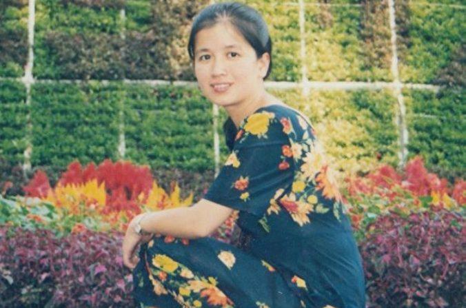 Xu Chensheng antes de ser perseguida por el régimen chino por practicar la disciplina espiritual Falun Gong. (Minghui.org)