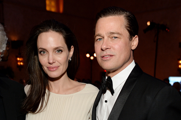 Angelina Jolie y Brad Pitt (Foto: Michael Kovac/Getty Images for AFI)