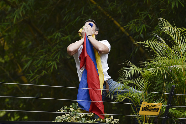 Leopoldo López. Foto: Carlos Becerra/Bloomberg via Getty Images