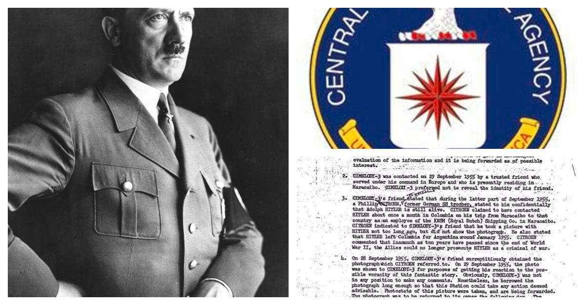 ¿Hitler salió vivo de Alemania? La CIA desclasifica nuevos documentos