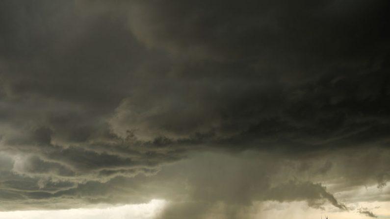 Tornado, en el condado de Elbert cerca de Limon, Colorado, 8 de mayo de 2017. (Foto de Drew Angerer / Getty Images)