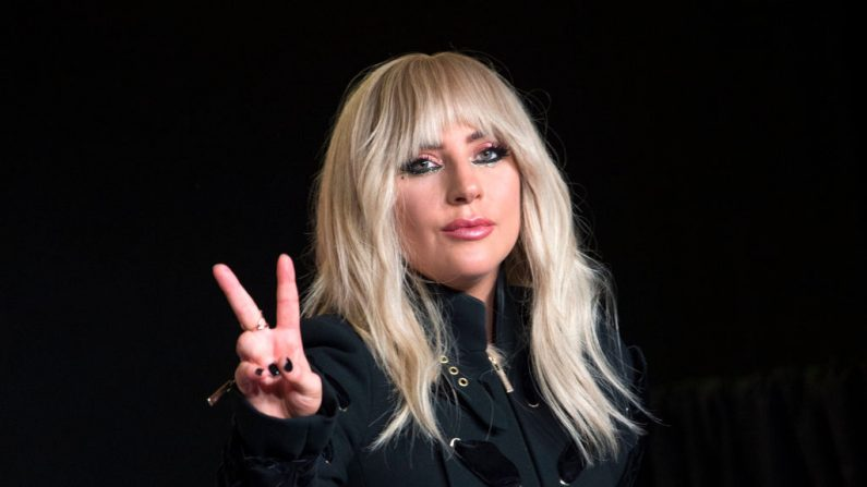 La cantante Lady Gaga en la conferencia de prensa de 'Gaga: Five Foot Two', durante el Festival Internacional de Cine de Toronto de 2017 en TIFF Bell Lightbox el 8 de septiembre de 2017, en Toronto, Ontario. (VALERIE MACON / AFP / Getty Images)