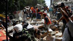 Así se vivió el sismo de hoy en la Ciudad de México