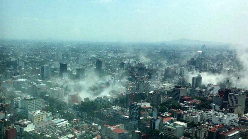 Ciudad de México después del terremoto de 7.1 del 19 de septiembre de 2017. (Foto: Francisco Caballero Gout / AP Images)
