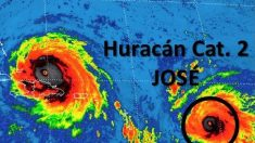 José ya es categoría 2 y amenaza con convertirse en un gran huracán