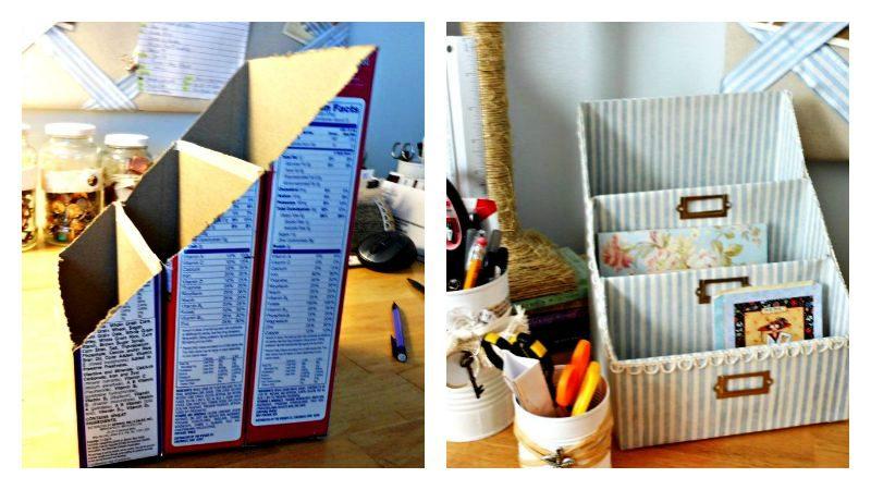 Ideas super prácticas para utilizar las cajas de cartón en casa y no desecharlas