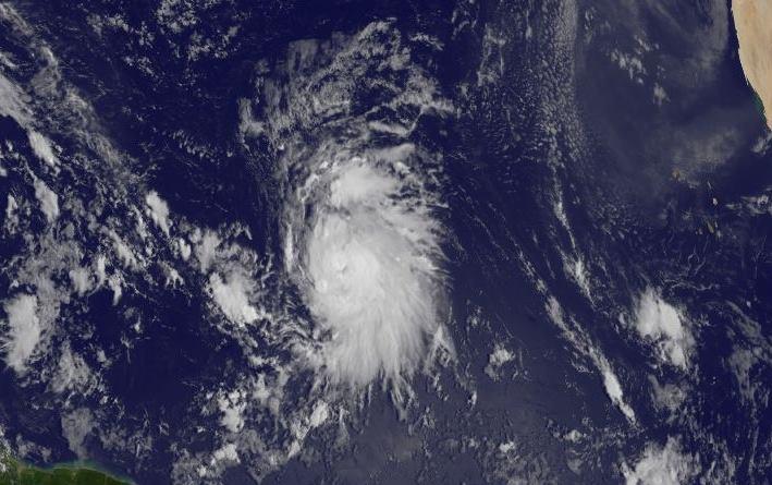 Tormenta tropical Jose (NOAA)