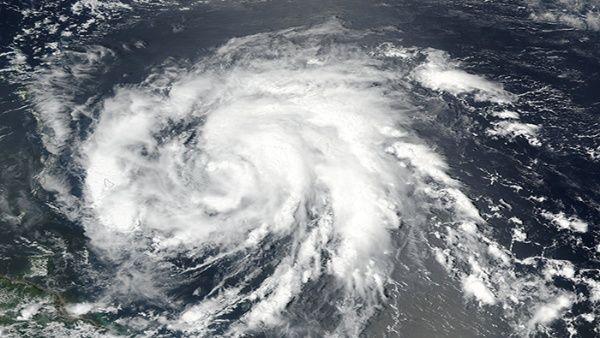 Huracán María (NASA)