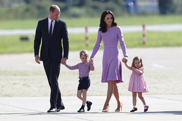 Príncipe William y su familia. Foto Getty Images.