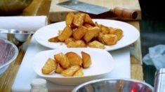 Batatas caramelizadas: delicioso postre chino para los golosos