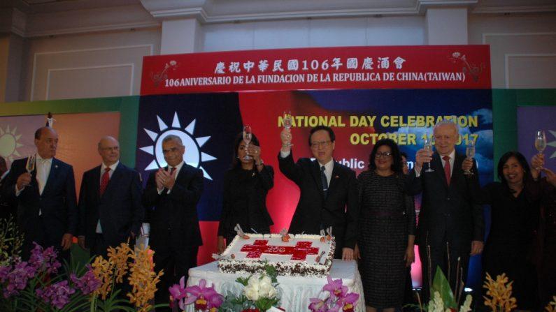 República Dominicana: Embajada de Taiwán festeja el aniversario de su país y llama a fortalecer las relaciones bilaterales