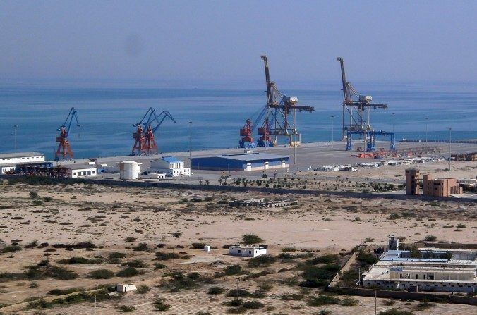 El puerto de Gwadar en Pakistán, uno de los proyectos que China está realizando en la llamada Ruta Marítima de la Seda. (J. PATRICK FISCHER/CC BY-SA)