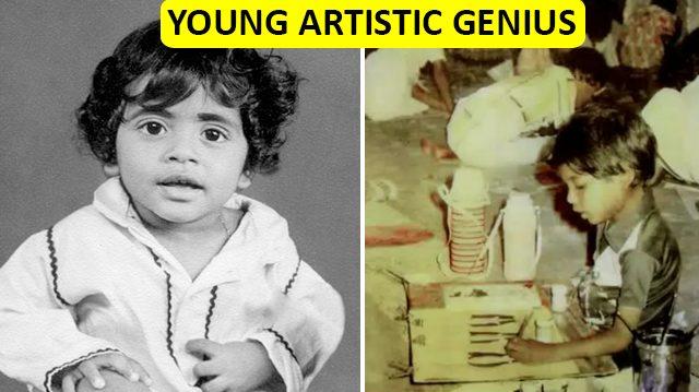 Hacía arte mientras otros aprendían a usar el lápiz. ¡A los 7 años ya había pintado 25,000 cuadros!