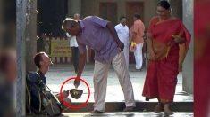 Cómo ayudaron en la India a este joven ruso cuando lo encontraron mendigando