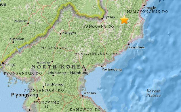 Detectan terremoto en Corea del Norte: es el mismo lugar donde se realizaron las pruebas nucleares