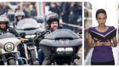 Jovencita que sufría bullying temía ir a su graduación, pero 120 motociclistas la protegen