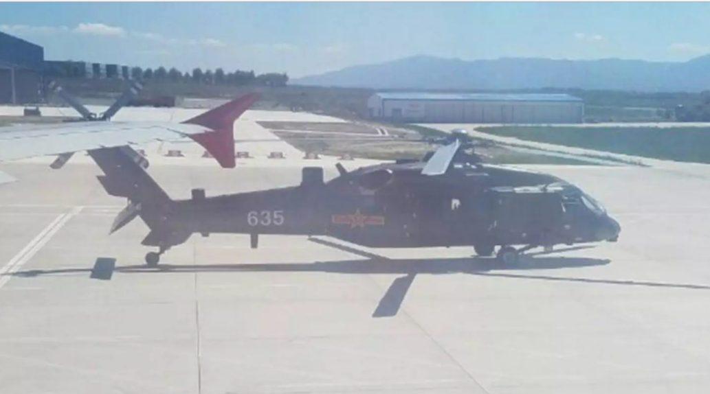 Revelan fotos recientes del Z-20, el clon del Black Hawk plagiado por China