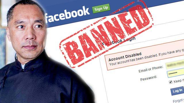 Facebook silencia a polémico multimillonario chino que reveló algunos oscuros secretos de China