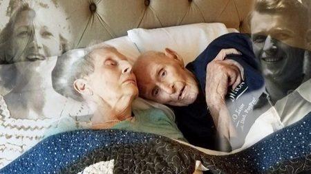 Sirvieron juntos en la guerra, estuvieron casados 70 años y murieron con solo horas de diferencia
