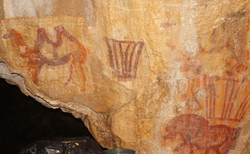 Desconcierto científico: descubren un camello en arte rupestre de 30.000 años… ¡en Rusia!