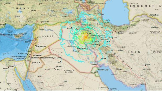 Terremoto de 7,3 en frontera Irak – Irán: Más de 60 muertos y 300 heridos (Videos)