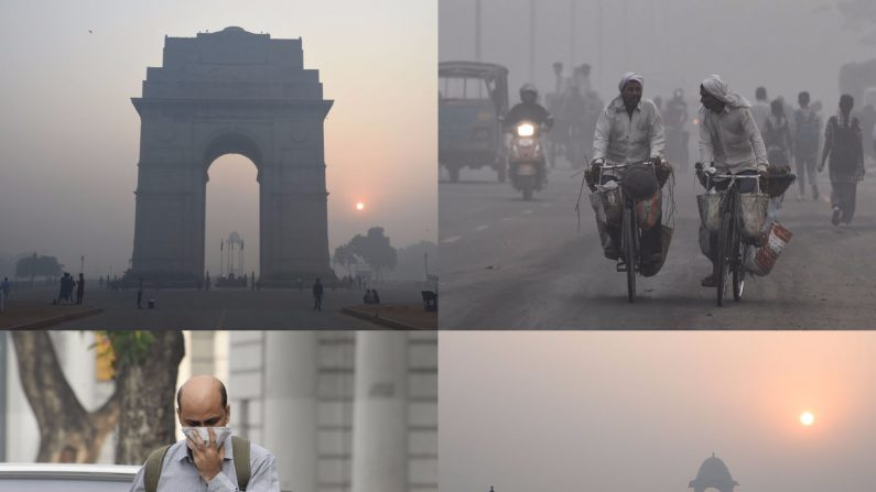 (Foto combinada de DOMINIQUE FAGET/AFP/Getty Images; MONEY SHARMA/AFP/Getty Images; PRAKASH SINGH/AFP/Getty Images)