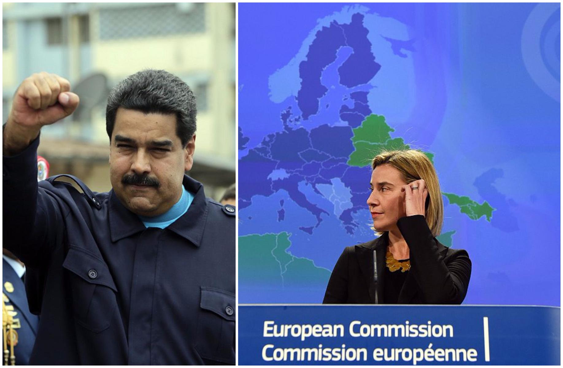 La UE adopta sanciones contra el gobierno de Maduro en respuesta a represión