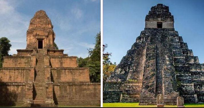 Extraña coincidencia: estas pirámides son muy parecidas pero están a 14 mil kilómetros de distancia