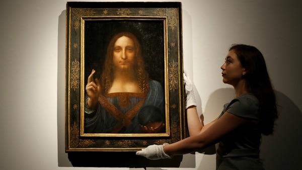 """Subastan el """"cuadro perdido"""" de Da Vinci: se convierte en el más caro de la historia"""