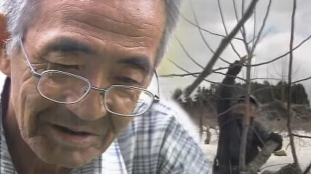 Este granjero fue a una montaña para suicidarse, pero se encontró con algo que le cambió la vida