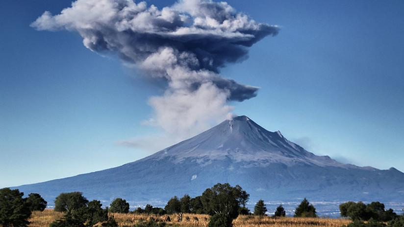 México: El volcán Popocatépetl entró en erupción 3 veces en solo 1 día