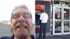 Hombre encuentra USD 500 sueltos en un cajero automático. Una empleada lo ve y llama al gerente