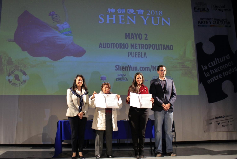 México: gobierno de la ciudad de Puebla firma acuerdo que impulsará presentaciones de Shen Yun