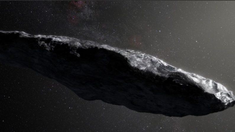 Asteroide Oumuama (NASA)