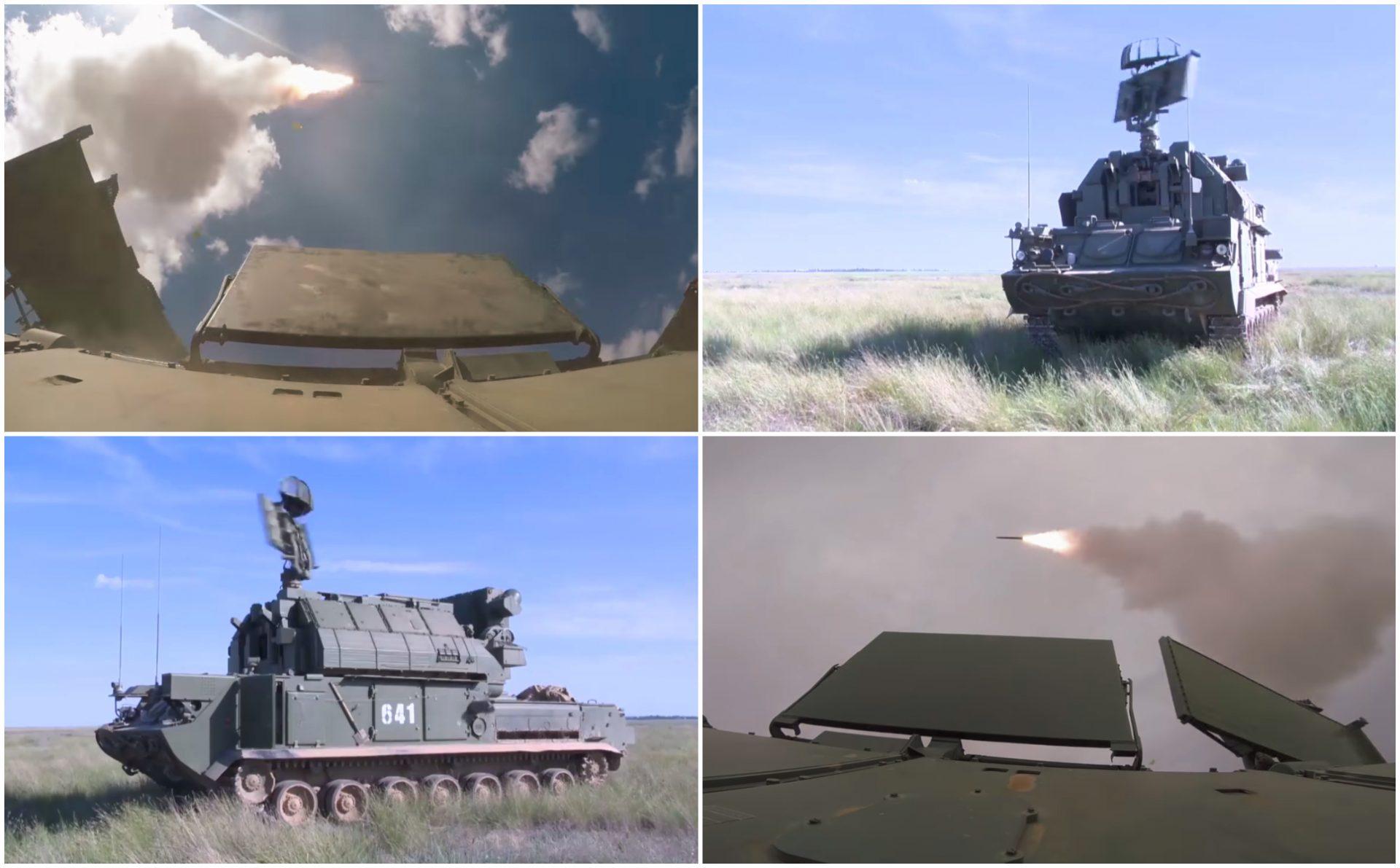 VIDEO: Rusia prueba los poderosos sistemas de misiles antiaéreos Tor-M2