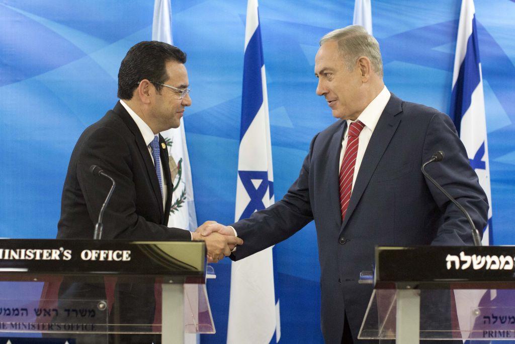 Guatemala anunció que también trasladará su embajada en Israel a Jerusalén