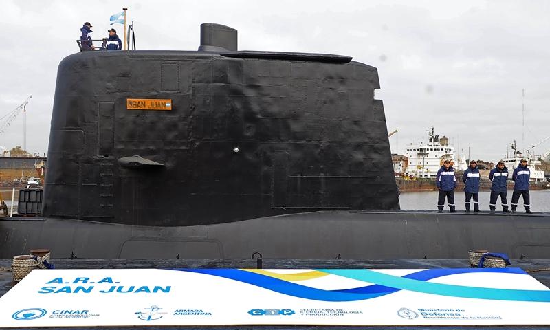 Revelan que submarino argentino sufrió una explosión más fuerte que 100 kg de TNT