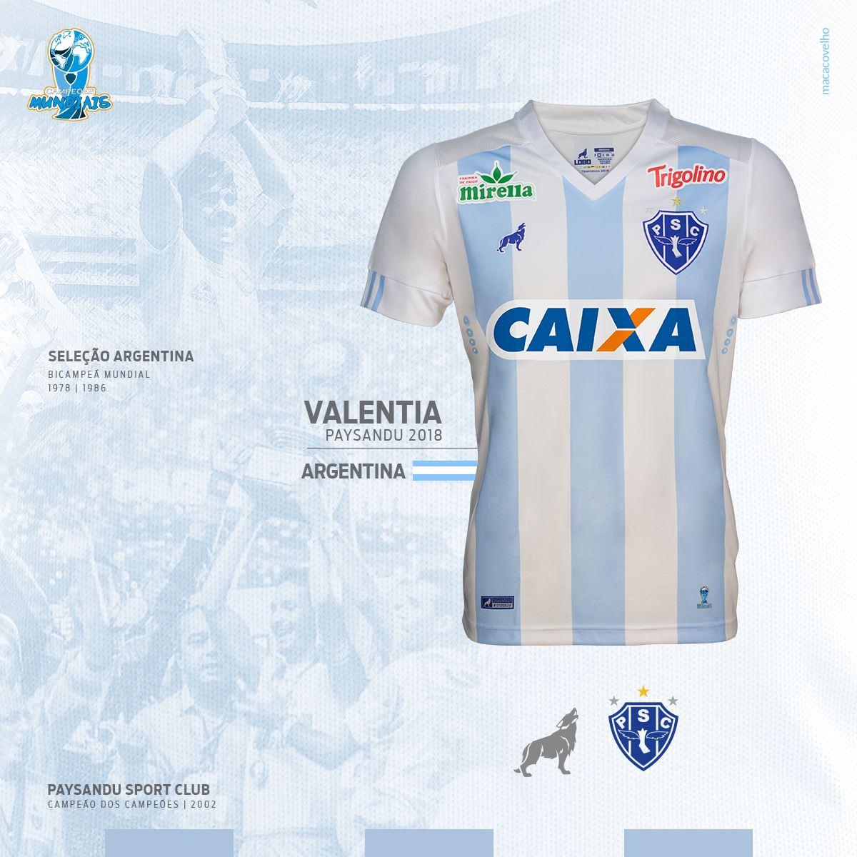 Insólito: un equipo brasileño usará una camiseta en honor a la Selección argentina