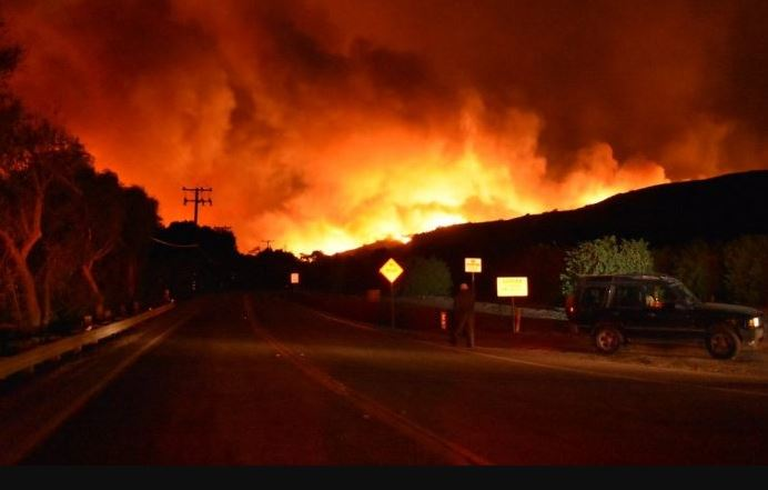 Devastador incendio forestal en Los Ángeles: decenas de miles de evacuados